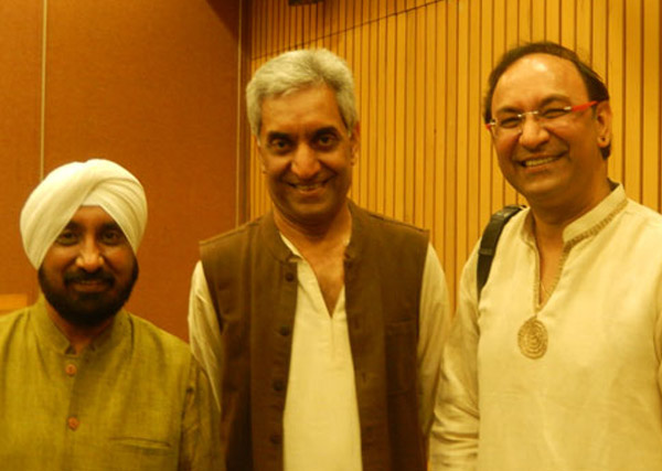 Ajay with Madhup Mudgal & Jagdeep Bedi